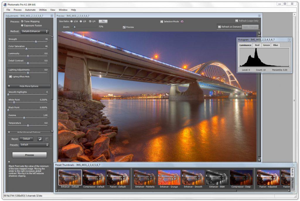 tutorial-photomatix default
