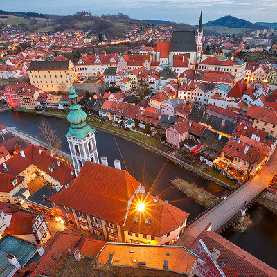Top 5 photography spots in Cesky Krumlov