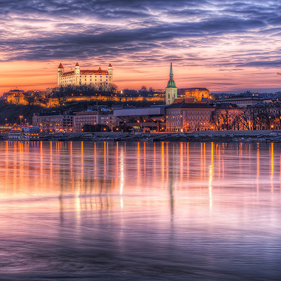Top 5 photography spots in Bratislava
