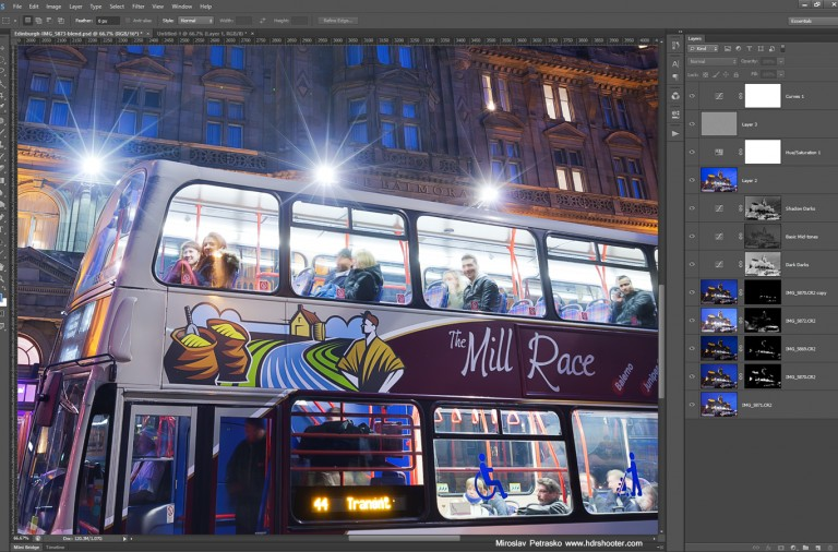 The-bus-in-Edinburgh-photoshop