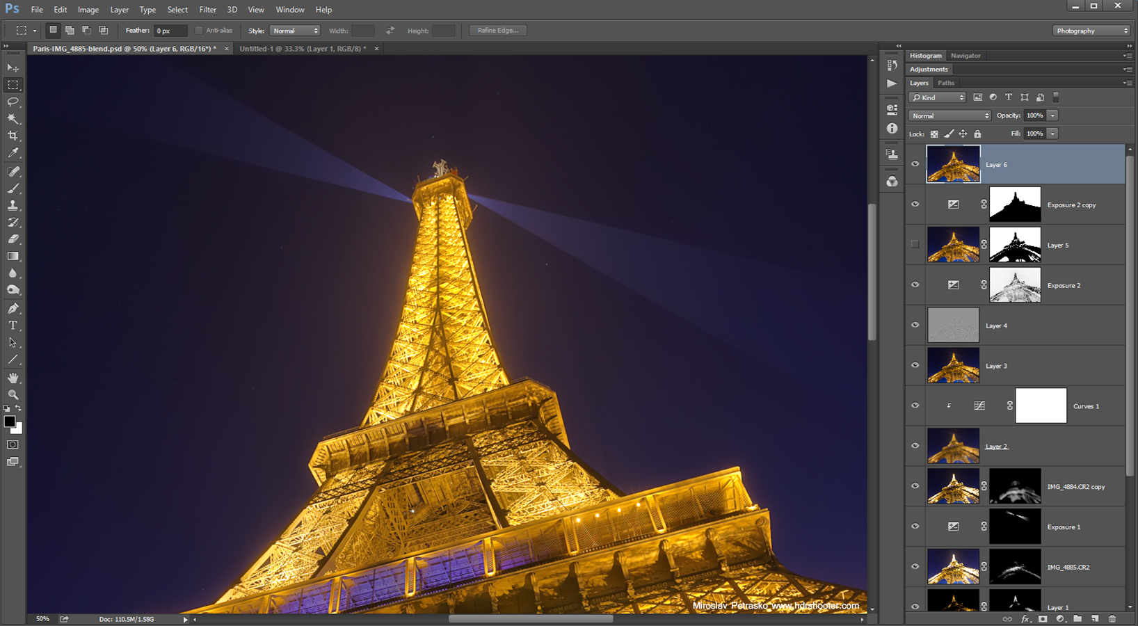 Color banding - how to avoid and remove it - HDRshooter