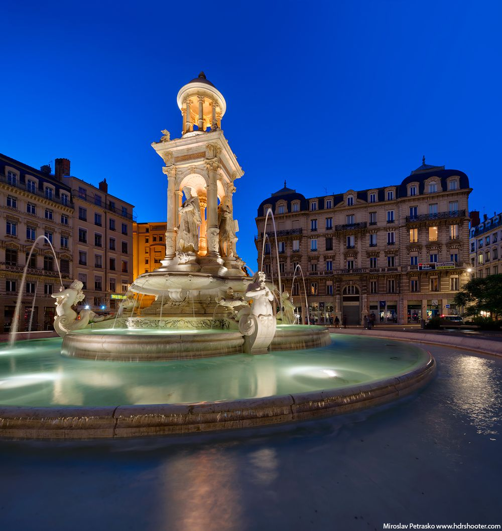 Place des jacobins in lyon in france hdrshooter - Place des jacobins lyon ...